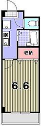 セントポーリア丸太町[2階]の間取り