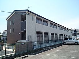 奈良県奈良市四条大路1丁目の賃貸アパートの外観