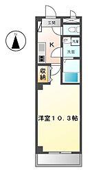 HAST有松[1階]の間取り