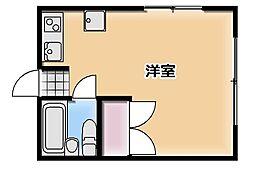 アリス本庄第2[C号室]の間取り