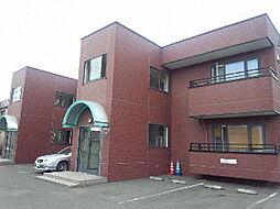 北海道札幌市北区新川五条6丁目の賃貸マンションの外観
