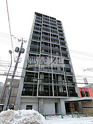 北海道札幌市中央区南五条東2丁目の賃貸マンションの外観