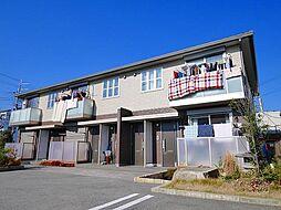 奈良県桜井市大字戒重の賃貸アパートの外観