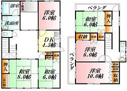 [一戸建] 埼玉県熊谷市平戸 の賃貸【/】の間取り