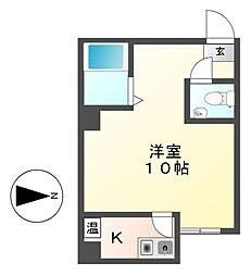 サンシャイン浄心南[4階]の間取り