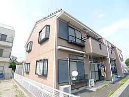 東京都葛飾区水元5丁目の賃貸アパートの外観