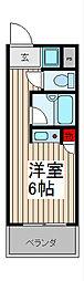 ステージコート浦和常盤[4階]の間取り