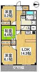 ReMINE(リ・ミネ)[2階]の間取り