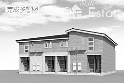 愛知県名古屋市天白区中坪町の賃貸アパートの外観