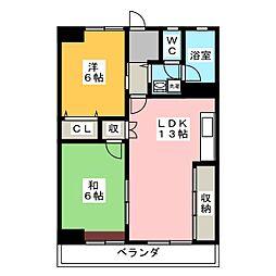 永安ビル[3階]の間取り