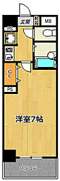 プレサンス御幣島ステーションフロント[3階]の間取り