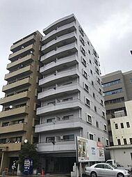 栃木県宇都宮市中河原町の賃貸マンションの外観