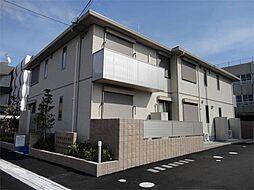 大阪府茨木市玉島2丁目の賃貸アパートの外観