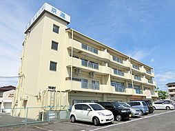 滋賀県甲賀市水口町虫生野中央の賃貸マンションの外観