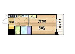 エステムコート神戸元町通の間取り