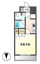 BPRレジデンス久屋大通公園[12階]の間取り