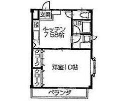 メゾン クドウ[2階]の間取り