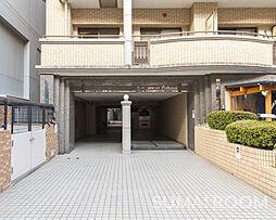 福岡県福岡市早良区西新4の賃貸マンションの外観