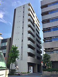 東京都港区芝4丁目の賃貸マンションの外観