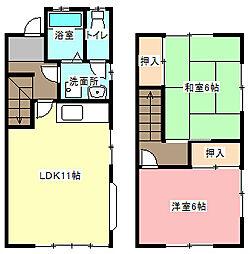 [テラスハウス] 静岡県浜松市東区篠ケ瀬町 の賃貸【/】の間取り
