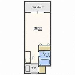 メゾン・ド・カナル[1階]の間取り