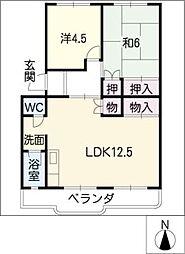 メープルタウンSAKANO[2階]の間取り