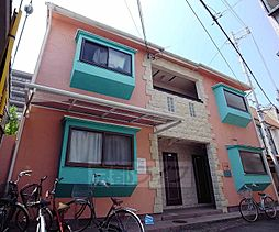京都府京都市右京区西院乾町の賃貸アパートの外観