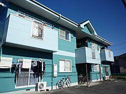 静岡県伊豆の国市南條の賃貸アパートの外観