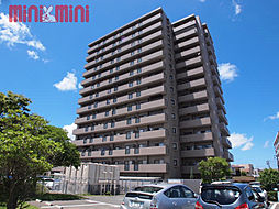 福岡県糸島市前原東1丁目の賃貸マンションの外観