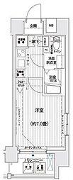 リライア西横浜[11階]の間取り