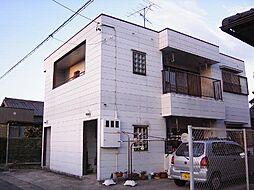 愛知県西尾市寄住町東浦の賃貸アパートの外観