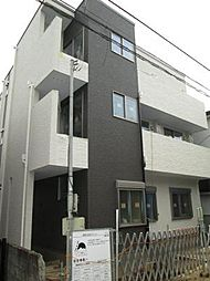 神奈川県川崎市中原区西加瀬の賃貸アパートの外観