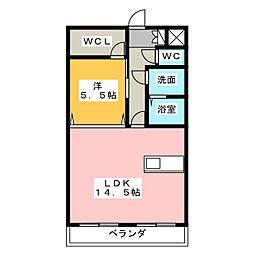 フォレストガーデン[1階]の間取り