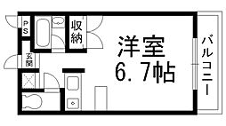 マンションOZ[0300号室]の間取り