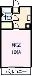 サンビレッジII  A[105号室]の間取り