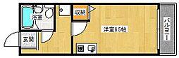 大阪府大阪市西淀川区大和田3丁目の賃貸マンションの間取り