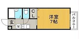 エルトベール[2階]の間取り