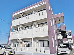 山梨県甲府市蓬沢町の賃貸マンションの外観