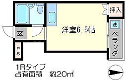 コスモプラザコマツ[5階]の間取り