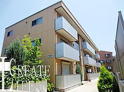 埼玉県さいたま市中央区大戸1丁目の賃貸アパートの外観
