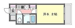 ラ・コート・ドール津田沼[207号室]の間取り