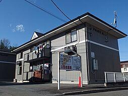 群馬県高崎市寺尾町の賃貸アパートの外観