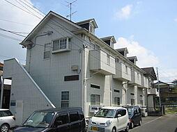 埼玉県鴻巣市富士見町の賃貸アパートの外観