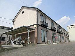 愛知県あま市下萱津の賃貸アパートの外観