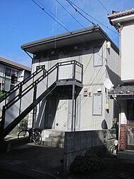 神奈川県横浜市金沢区富岡西7丁目の賃貸アパートの外観