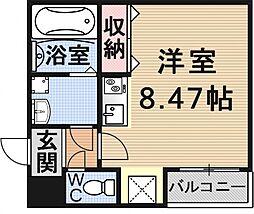 (仮)御陵鳥ノ向町アパート[101号室号室]の間取り