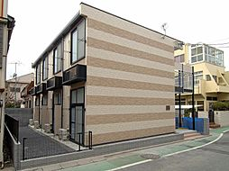 東京都葛飾区新宿2丁目の賃貸マンションの外観