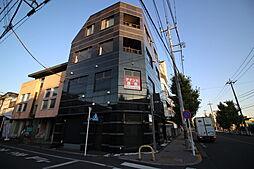 東京都羽村市小作台1丁目の賃貸アパートの外観