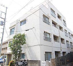 東京都調布市布田3丁目の賃貸マンションの外観