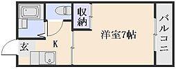 沖野ハイツ[2階]の間取り